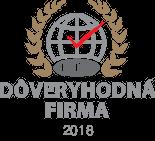 Držiteľ certifikátu Dôveryhodná firma 2018