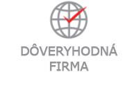 Držiteľ certifikátu Dôveryhodná firma 2016